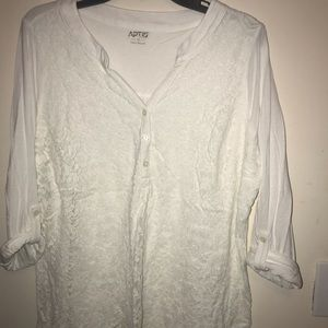 Lace top 1XL From Kohl's
